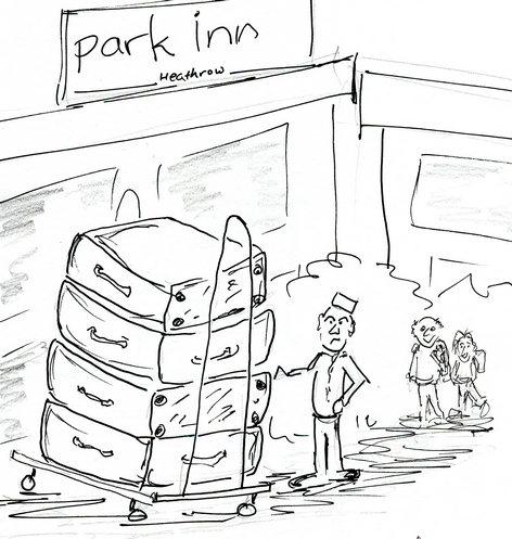 SMS79 #2Park Inn arrival